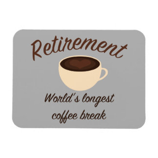 Pension: Världs längst kaffeavbrott Magnet