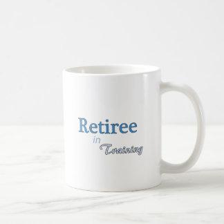 Pensionär i utbildning kaffemugg