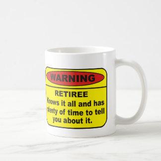 Pensionär Kaffemugg