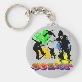 Pensionär - Skateboarding Nyckel Ringar