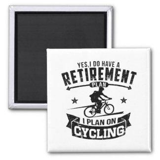 Pensionen planerar att cykla magnet