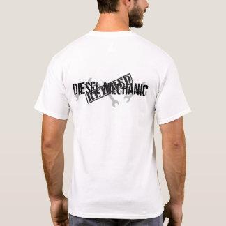 Pensionerad diesel- mekaniker t shirts