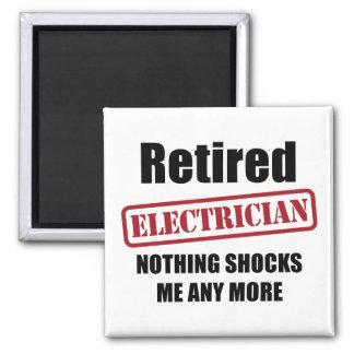 Pensionerad elektriker (UK-pass) Magnet