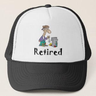 Pensionerad hatt keps