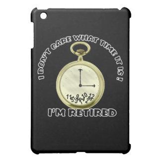 Pensionerad klocka iPad mini skydd