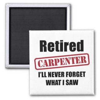 Pensionerad snickare magnet