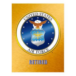 Pensionerad vykort för U.S.A.F.