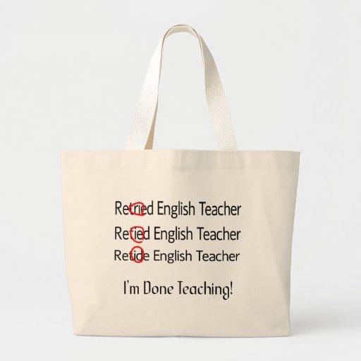 Pensionerade engelska läraregåvor kasse