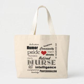 Pensionerade sjuksköterskaPride-Attribut+röd hjärt Kasse