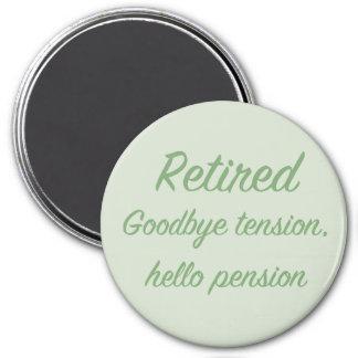 Pensionerat: Goodbye spänning, hejpension Magnet