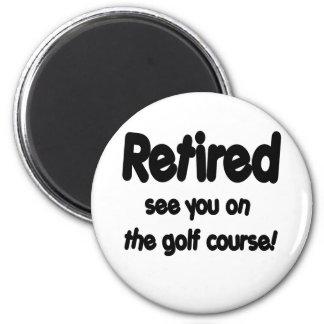 Pensionerat se dig på golfbanan magnet