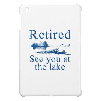 Pensionerat se dig på sjön iPad mini mobil skal