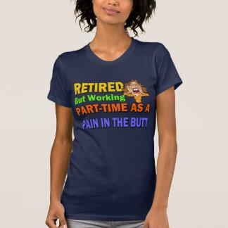 Pensionerat smärta i ändan tee shirts