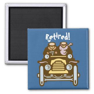 Pensionerat: Vintage car Magnet