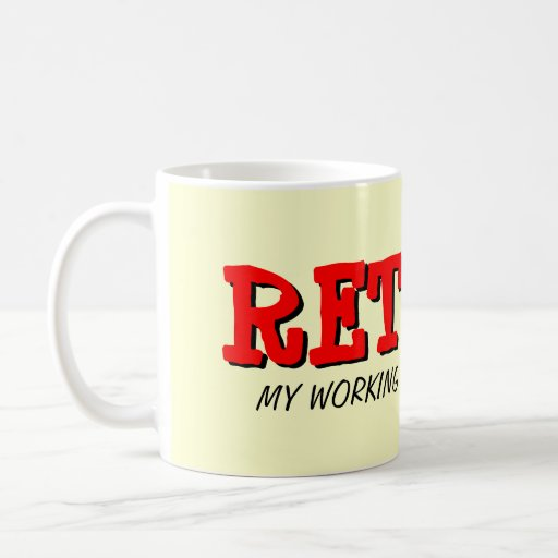 Pensionmugg med roligt citationstecken kaffe kopp