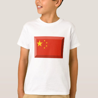 People's Republic of China flaggajuvel T-shirts