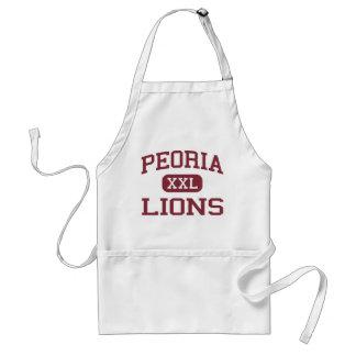 Peoria - lejon - högstadium - Peoria Illinois Förkläde