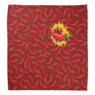 Peppar med flammar scarf