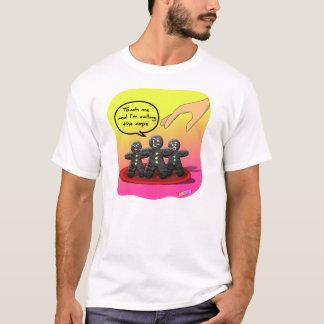 Pepparkaka med inställningskjortan tee shirts