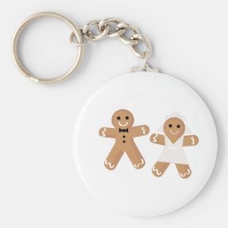 Pepparkakabröllop Nyckel Ringar