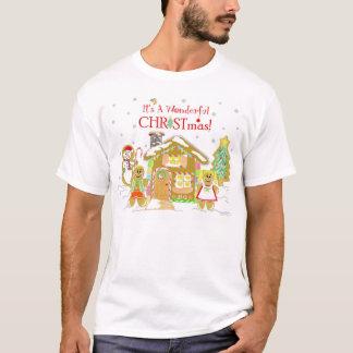 PepparkakaCandyland T-tröja - grabbar Tröjor