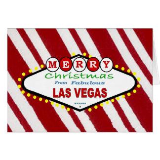 Pepparmintgod jul från Las VegasCard Kort