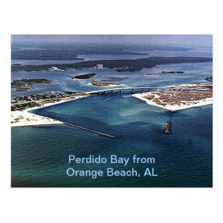 Perdido fjärd från den orange stranden, AL Vykort