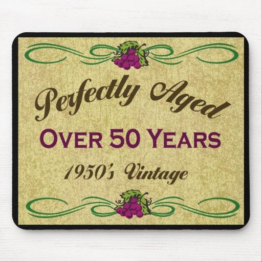 Perfekt åldrats över 50 år mus mattor