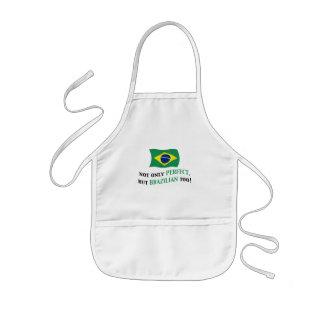 Perfekt brasilian barnförkläde