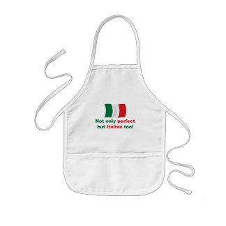 Perfekt italienare barnförkläde