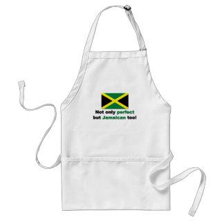 Perfekt jamaikan förkläde