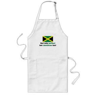 Perfekt jamaikan långt förkläde