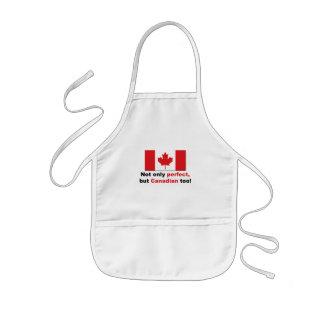 Perfekt kanadensare barnförkläde