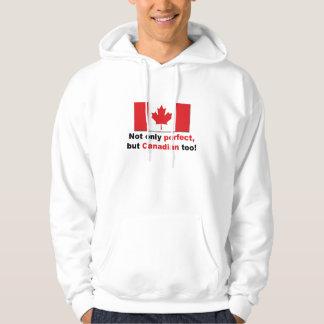 Perfekt kanadensare hoodie