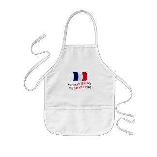 Perfekt och fransk barnförkläde
