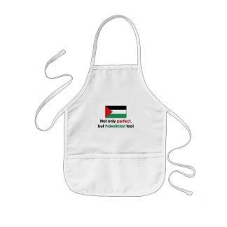 Perfekt palestinier barnförkläde