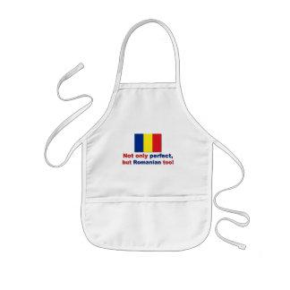 Perfekt rumänskt barnförkläde