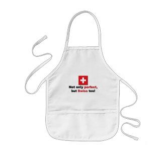 Perfekt schweizare barnförkläde