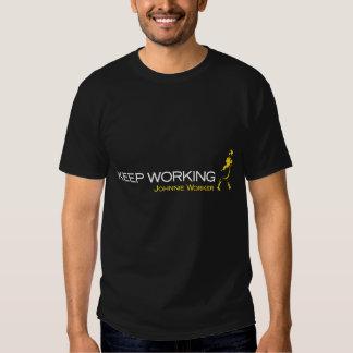 Perfekt utslagsplats för workaholicen och tee shirts