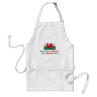 Perfekt walesiskt förkläde