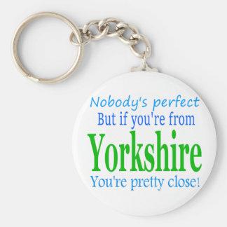 Perfekta Yorkshire Rund Nyckelring