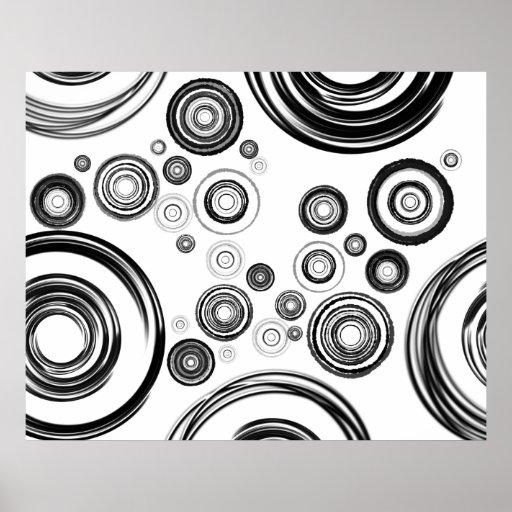 Perfektion är cirklar (den Inv spectrumen) Posters