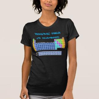 Periodiskt bord av inslagT-tröja T Shirt