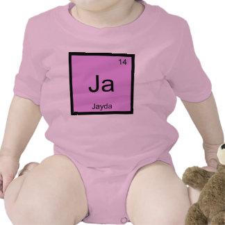 Periodiskt bord Jayda för känt kemiinslag Tröja