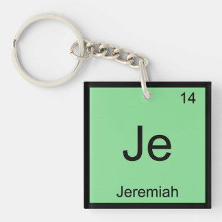 Periodiskt bord Jeremiah för känt kemiinslag