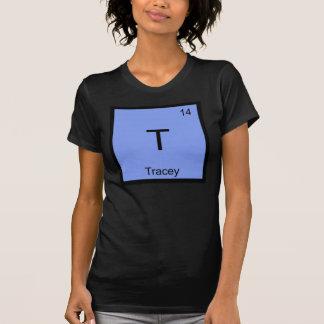 Periodiskt bord Tracey för känt kemiinslag T-shirt