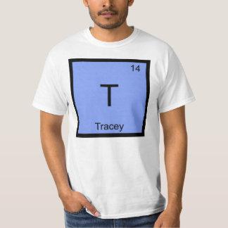 Periodiskt bord Tracey för känt kemiinslag Tee Shirts