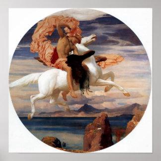 Perseus på Pegasus Poster