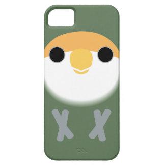 Persika-vänd mot Lovebird (kritisera), Barely There iPhone 5 Fodral