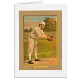PersikaGraham Boston baseball 1911 Hälsningskort